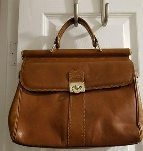 Vintage satchi bag brown used
